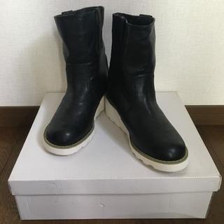 新品  ブーツ黒L