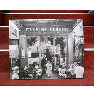 札幌【キャンバスアート】幅49.5cm CAFE DE FRAN...