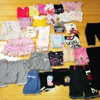 女の子  洋服  サイズ 100 から 130