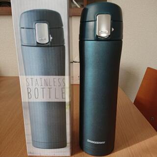 新品未使用 携帯用魔法瓶/ワンプッシュ 真空ステンレスボトル