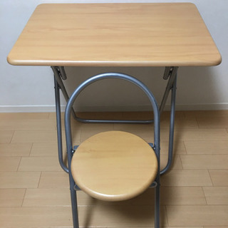 折りたたみ机、椅子