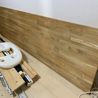 タモ集成材天板(240x60cm)