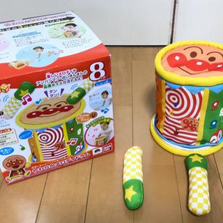 おもちゃ 8ヶ月〜 アンパンマン やわらかメロデイドラム