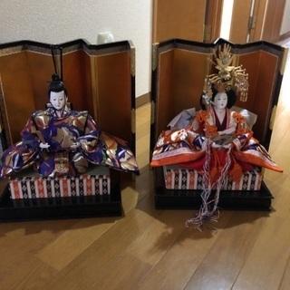 ひな人形(親王飾り)