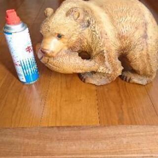『値下げ‼️』木彫りの熊  置物