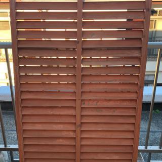 木製ベランダフェンス 3枚 (プラス1枚サービス) 150×90cm