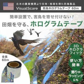 VisualScare 防鳥 ホログラムテープ