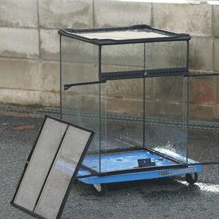 グラステラリウム水槽4560  自動霧吹き装置モンスーンソロ 最...