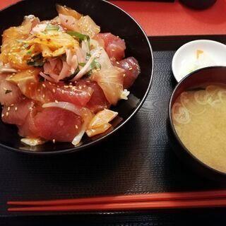 もてなしや 10月1日~ランチ限定10食 漬け三昧(まぐろ・サー...