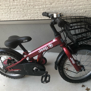 子供自転車16インチコマ付き