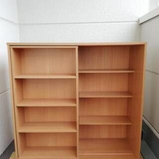 スライド式本棚 大容量 値下げしました