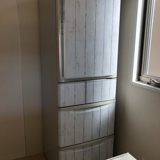即決 冷蔵庫 401L 5ドア 程度いい 中古 自動製氷 動作品...