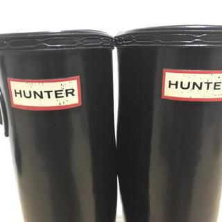 [値下げ]HUNTER 長靴 W23499 23.5