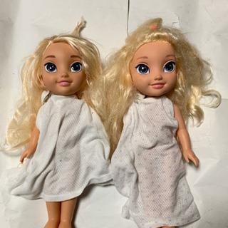 アナと雪の女王・人形2体セット