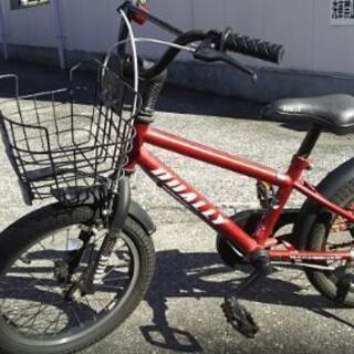 18インチ 子供自転車 赤