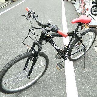 マウンテンバイク GRAPHIS GR-007 26インチ 美品...