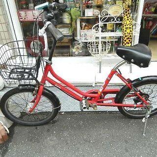 20インチ 6速 中古 自転車
