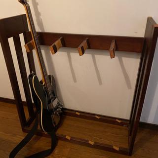 ギタースタンド 自作