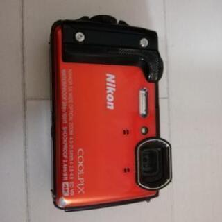 Nikon coolpix w300 防水カメラ