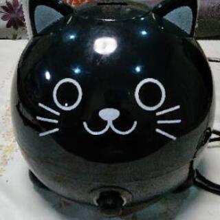 アニマル加湿器・くろ猫
