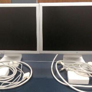 【ジャンク品】Mac モニター 2台(1台2,000円)