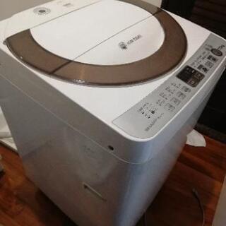 【取り引き中】シャープ SHARP 全自動洗濯機 7kg
