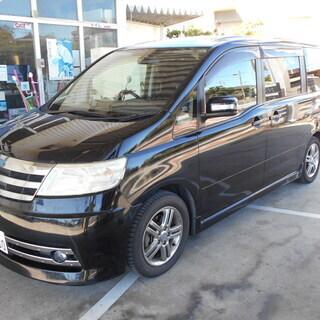 中古車 H18年式 ニッサン 日産 セレナ ライダー ブラック ...