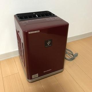 ※ジャンク品 シャープ/加湿付プラズマクラスターIG-BK100-赤