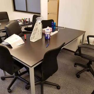オフィス移転のため超買い得!!デスクとオフィスチェア