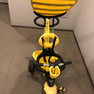 三輪車 スマートトライク 蜂 黄色