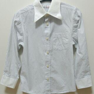 七五三★入学卒園★男児★フォーマル★シャツ ★白ストライプ★KA...