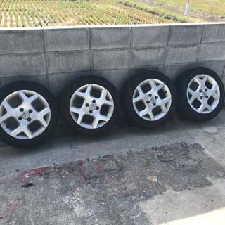 キューブ純正アルミ タイヤ