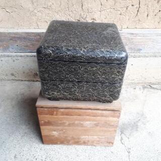 重箱2段(木箱入り)
