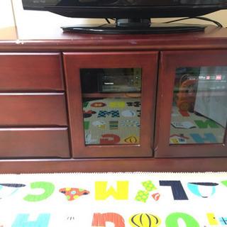 テレビボード(茶色)