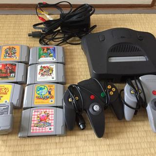 Nintendo64 ソフト18本付き❗️