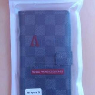未使用Xperia Z3携帯カバー