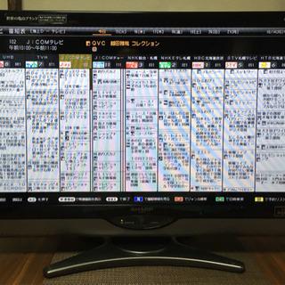 AQUOS シャープ 2010年製 32インチ液晶テレビ