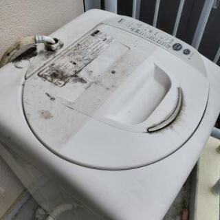 《ジャンク》SANYO2006年製5㎏洗濯機