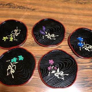 お茶菓子皿 桂由美 5枚