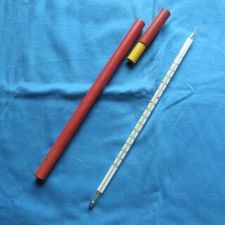 高温用 温度計(150℃まで測れる水銀温度計)