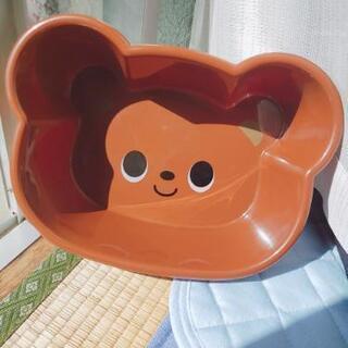クマの洗面器