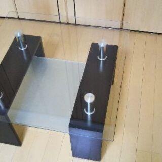 ガラステーブル(美品)