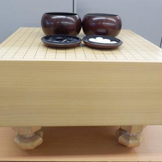 囲碁セット 碁石、碁盤 厚み17.6cm 木製 囲碁 ペイペイ対...