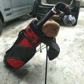 ゴルフクラブ、バッグ、服などまとめて!