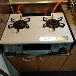 リンナイIC-N800 V-Rプロパンガステーブル