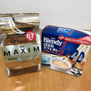 【値下げ】AGF MAXIM インスタントコーヒー(135g)+...