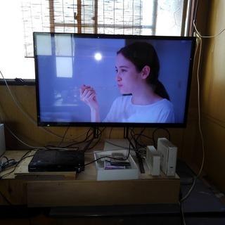 40型フルハイビジョン液晶モニターテレビ