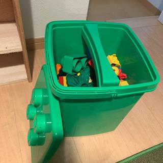 みどりのバケツ LEGO