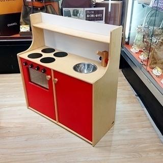 中古 マリントラ社 ままごと木製キッチン