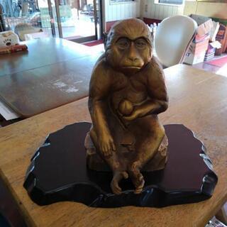 【取引中】環水 猿の置物